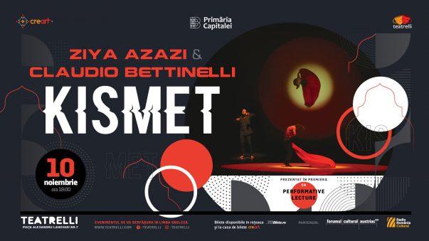 "Ziya Azazi & Claudio Bettinelli: Performative Lecture ""Kismet"""